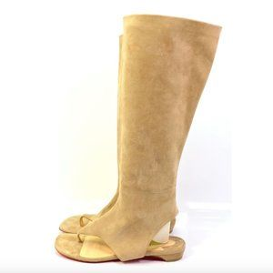 Christian Louboutin From Sand Gladiator Boots 38.5